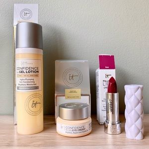 3 New IT Cosmetics Cosmetics Gel Lotion, Eye & Lip